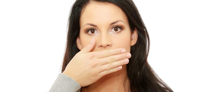 Сильный запах изо рта